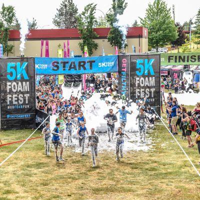 5k Foam Fest Fun Run Nonprofit Events In Charlotte Get
