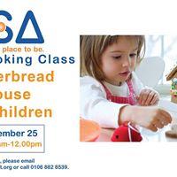 CSA Kids Cooking Class Gingerbread House for Children