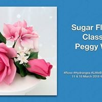 Sugar Flowers Class by Peggy Wong