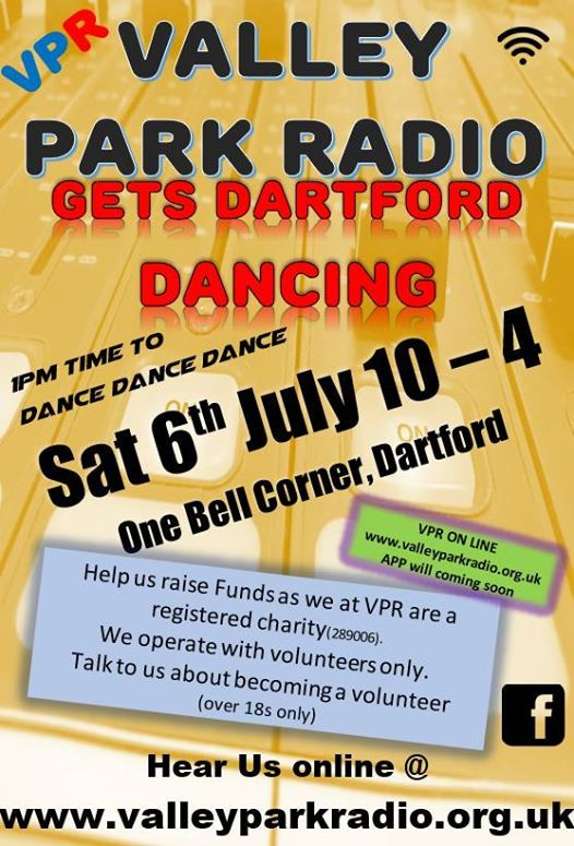 VPR Gets Dartford Dancing at One Bell Corner, Dartford