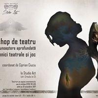Workshop de teatru i auto-cunoatere cu Ciprian Ciuciu