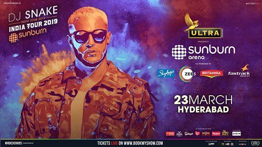 Sunburn Arena with DJ Snake - Hyderabad