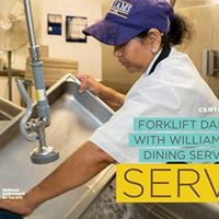 Forklift Danceworks with Williams Dining Services staff