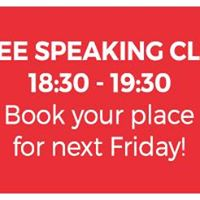Free Friday Speaking Club