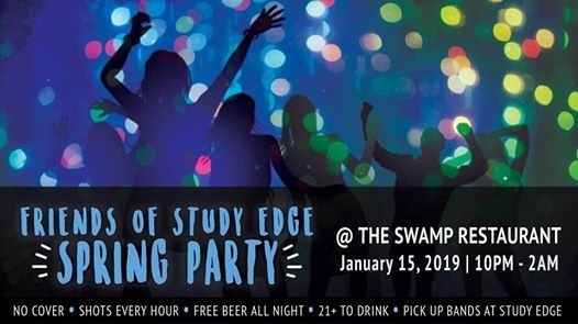 Friends Of Study Edge Spring Party At The Swamp Restaurant1642 W