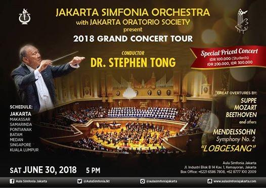 Grand Concert Tour 2018