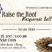 Raise the Roof Masquerade Ball