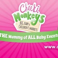 Cheeki Monkeys BIG Baby &amp Childrens Market Grantham