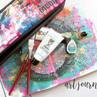 Art Journaling &amp Gelli Prints with Jow