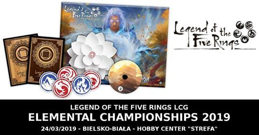 Legend of The Five Ring LCG - Elemental Championships 2019
