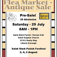 Flea Market Pre-Sale