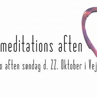 Healings og Meditations aften i Vejle Sndag d. 22. oktober