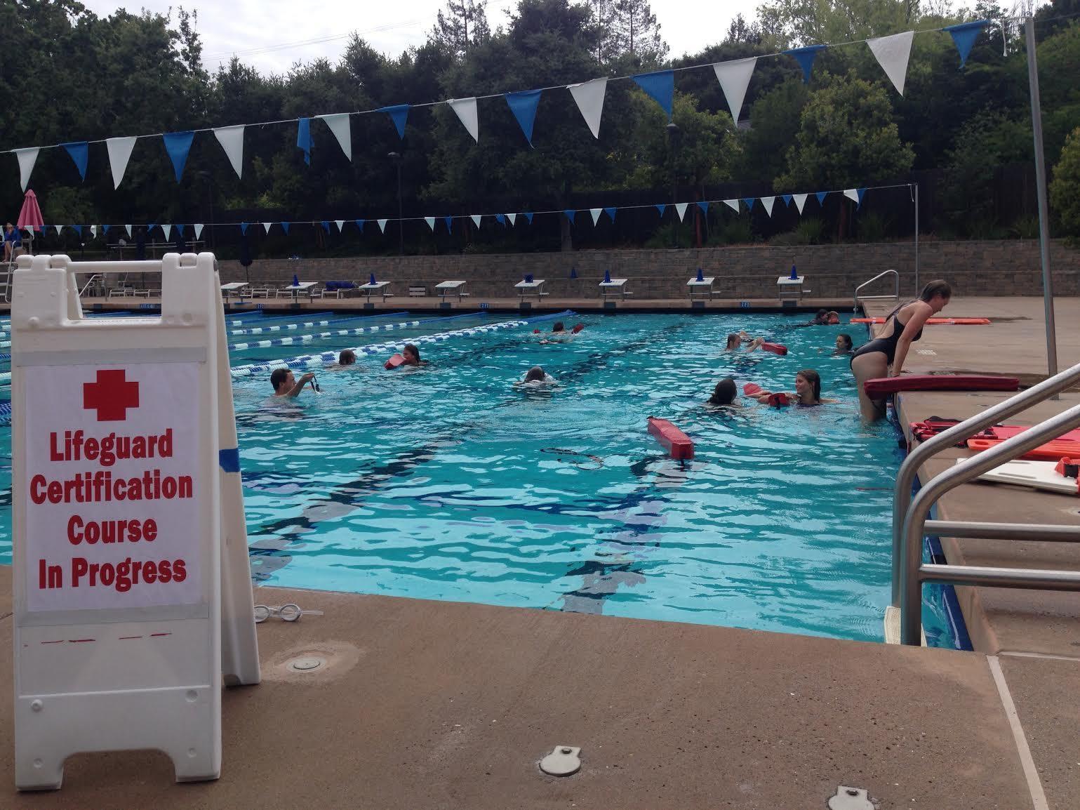 Ojai CA Fun Red Cross Lifeguard Training REVIEW-- ONE-DAY course