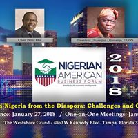 The 2018 Nigerian American Business Forum Inaugural Conference