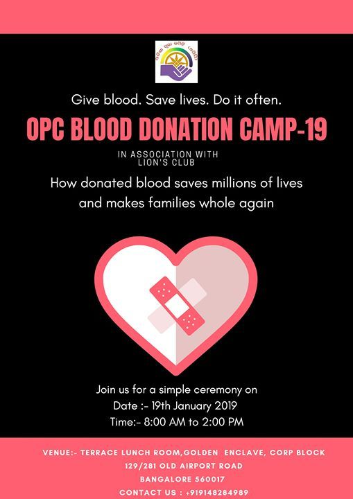 OPC Blood Donation Camp-2019