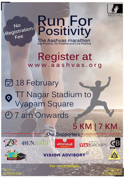 RUN for Positivity 2K18