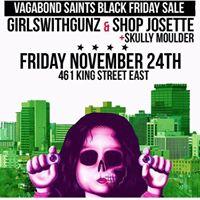 GWG x Skully Mulder x Shop Josette Black Friday Sale