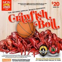 2nd Annual March Madness Crawfish Boil