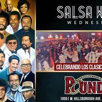 Classic Salsa World Wednesday Latin Night at the Round Up
