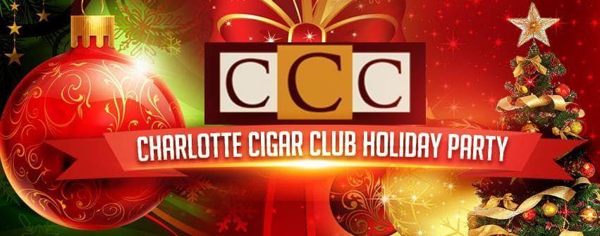 Charlotte Cigar Club Holiday Party