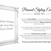Personal Styling Evening