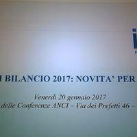 Seminario sulla legge di bilancio 2017 le novit per i comuni