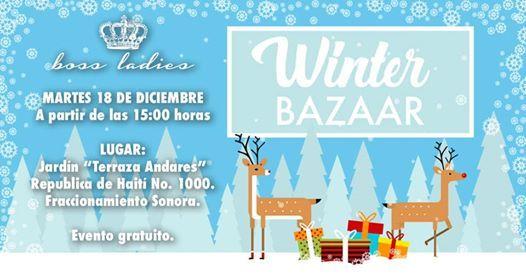 Boss Ladies Winter Bazaar At Terraza Andares Jardín De
