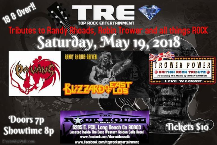 Tributes to Randy Rhoads, Robin Trower & more  at Rock House