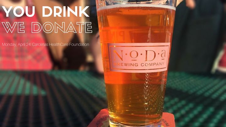 You Drink We Donate - Carolinas HealthCare Foundation