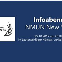 Infoabend NMUN New York 201718
