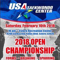 2018 Usa Taekwondo Center Open Championship
