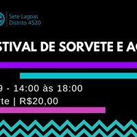 Festival de Sorvete e Aa do Interact Club de Sete Lagoas