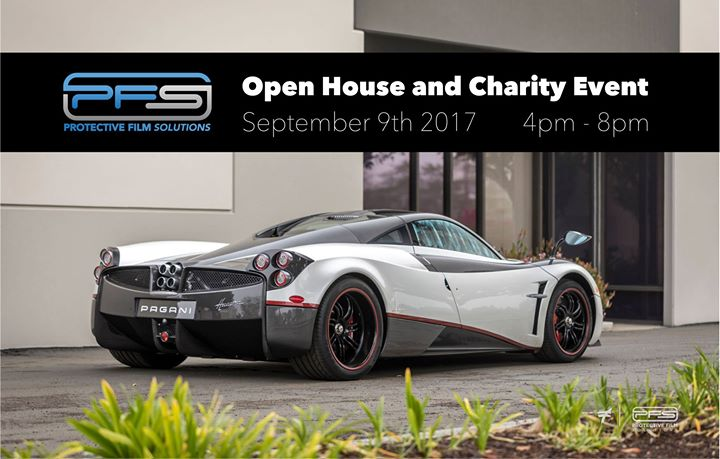 protective film solutions open house charity event at 3502 s susan