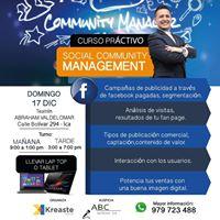 CURSO Social Community Management