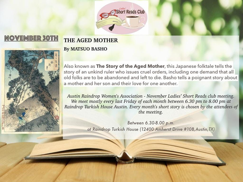 the aged mother short story