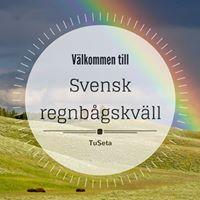 Svensk regnbgskvll