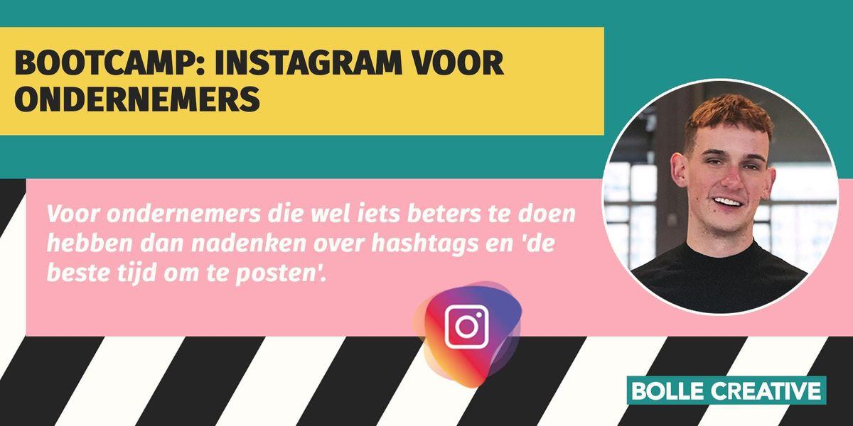 Bootcamp Instagram voor ondernemers