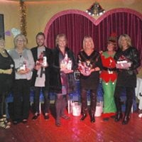 Vals Avon Christmas get together