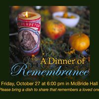 Dinner of Remembrance (Parish Potluck)