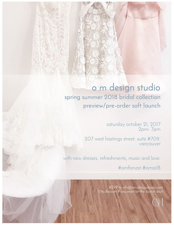 Bridal Collection Launch Party By O M Design Studio