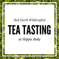 Tea Tasting with Red Earth Wildcrafted