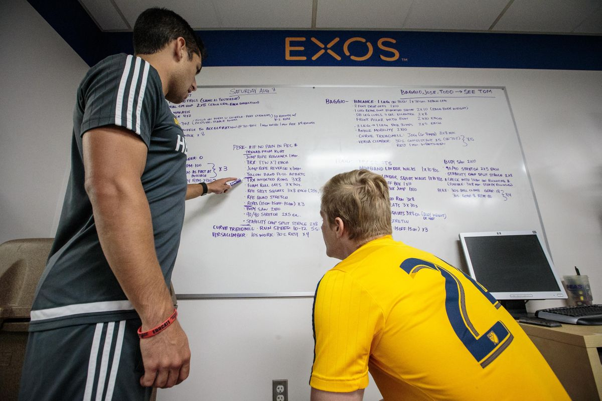 EXOS Performance Mentorship Phase 1 - Cairo