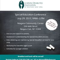 Special Education Family Workshop
