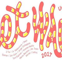 II Festival de arte urbano de Logroo Wet wall 2017