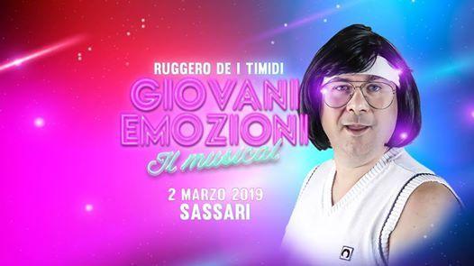 Ruggero de I Timidi - Sassari - Teatro Verdi