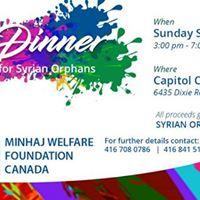 Eid Dinner - Fundraising for Syrian Orphans