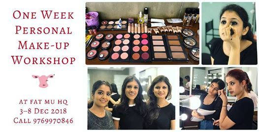 One Week Personal Make-up Workshop