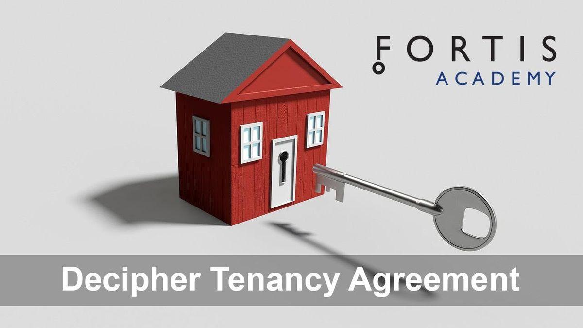 Decipher Tenancy Agreement