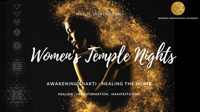 Womens Temple Nights - Healing the Womb Space