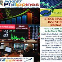 Stock Market Investing Seminar (PART1)